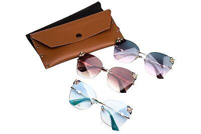 UV400 Sonnenbrille 2019 Mode Biene Design Hochwertig 3 Farben mit Tasche DX10