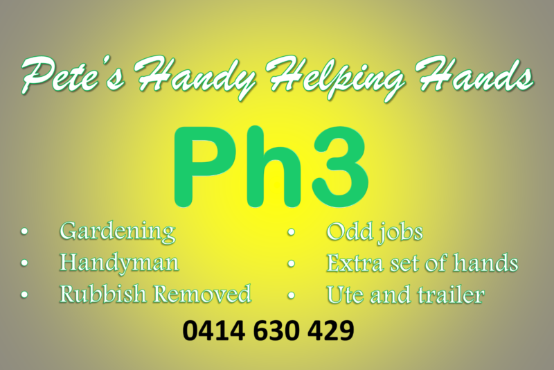 Pete S Handy Helping Hands Lawn Care And Handyman Services Toowoomba City Image 2 1 Of