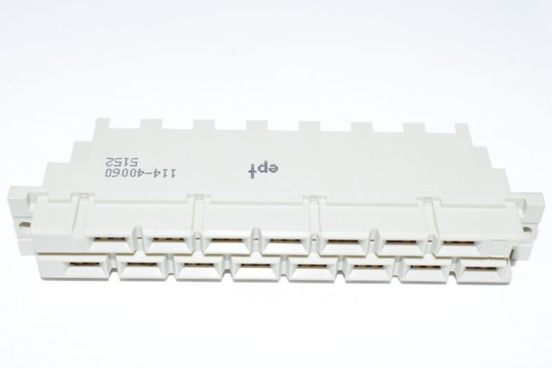NEW EPT 114-40060 FEMALE, FASTON, TYPE H, CL2, 15WAY Connector Backplane