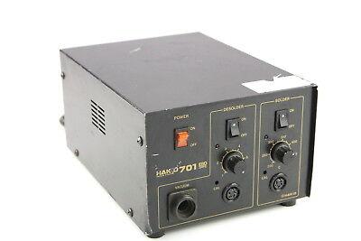 Hakko 701 Rework Station Esd Safe Desolder Solder Used