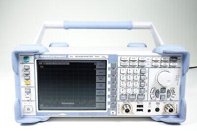 Rohde Schwarz Zvl3-75 Vector Network Analyzer - 2p 9 Khz - 3 Ghz 75 Ohm