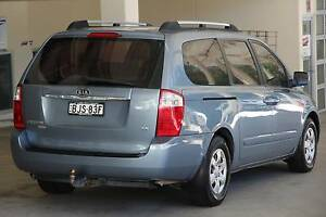 Kia Grand Carnival 2009 model auto 8 seater Van people mover Beaumont Hills The Hills District Preview