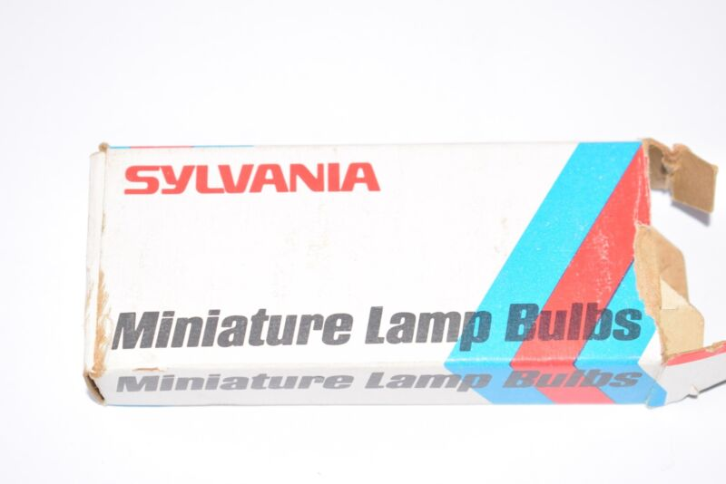Pack of 7 NEW Sylvania 333170-0, No. 328 Miniature Lamp Bulbs