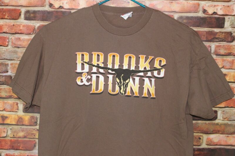 Brooks And Dunn Neon Circus And Wild West Show Tour Vintage Shirt
