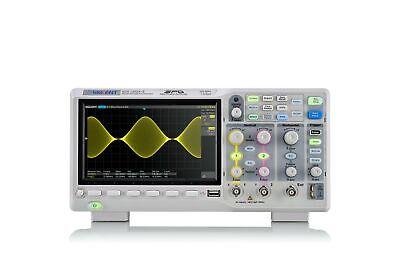 Siglent Technologies Sds1202x-e 200 Mhz Digital Oscilloscope 2 Channels Grey New