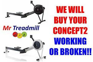 "CONCEPT2 ROWER >>>>>  WE WILL BUY ""WORKING OR BROKEN"" Geebung Brisbane North East Preview"