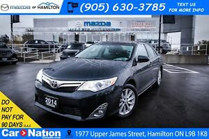 2014 Toyota Camry XLE | HEATED SEATS | REAR CAM | SUNROOF | NAV