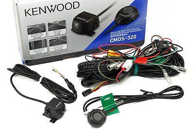 Kenwood CMOS-320 Universal Rear-View Car Backup Camera with