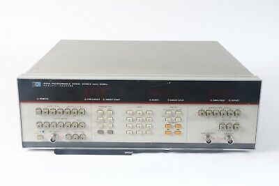 Hp Hewlett Packard 8165a 1mhz-50mhz Programmable Signal Source W Opt.002