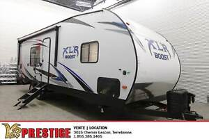 2019 Forest River XLR Boost 27QB Toy Hauler Garage Couche 6 pers