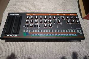 Roland Boutique JX-03 module AS NEW CONDITION Boxed. Varsity Lakes Gold Coast South Preview