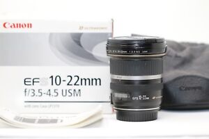 Near Mint Canon EF-S 10-22mm f/3.5-4.5 USM lens