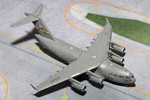 GeminiMACS USAF Boeing C-17 Globemaster III GMUSA063 1:400 Reg# 10193. New