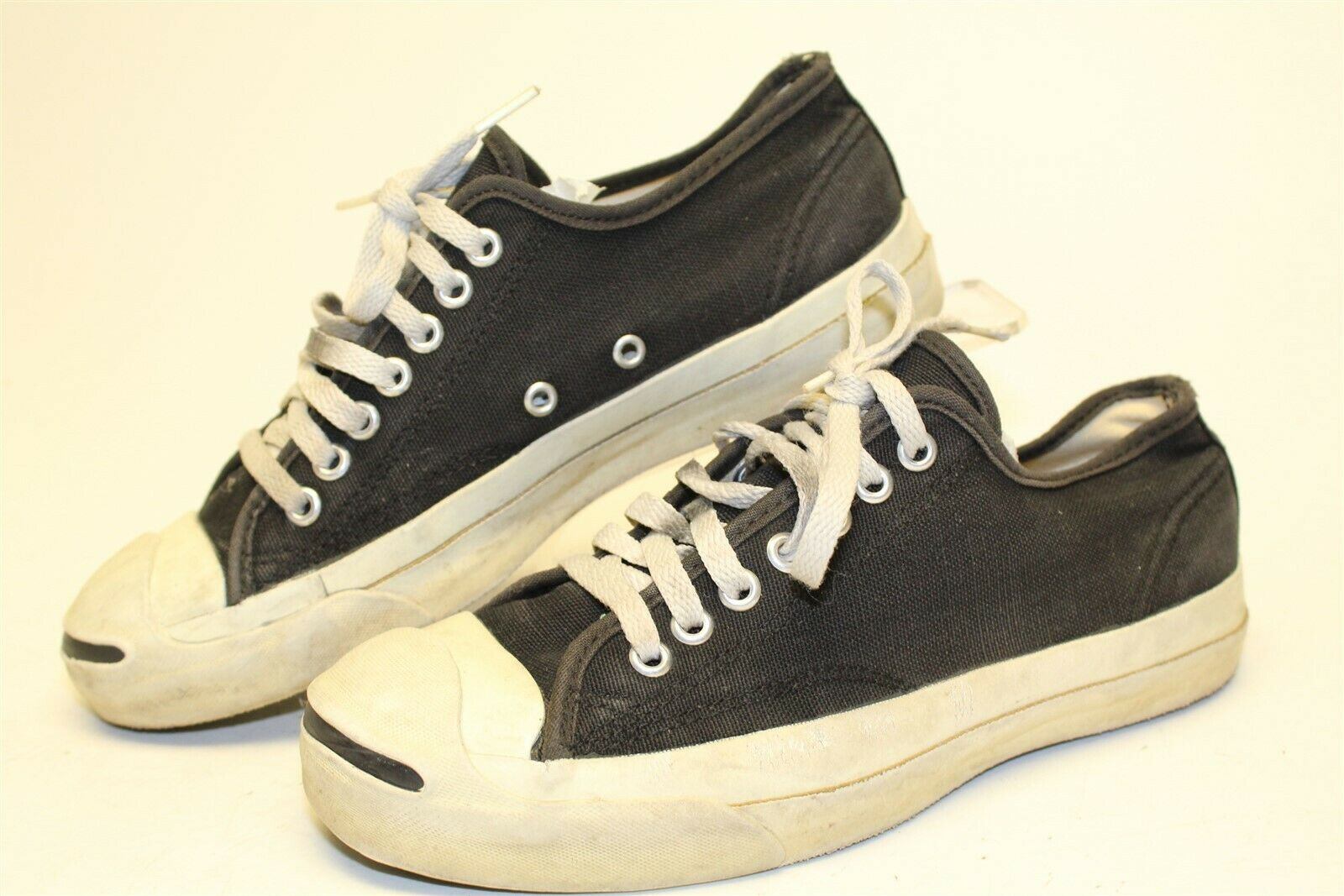 Converse Jack Purcell Vintage Mens 7 Lace Up Low Top Shoes Sneakers Made in USA