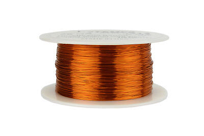 Temco Magnet Wire 28 Awg Gauge Enameled Copper 200c 8oz 994ft Coil Winding