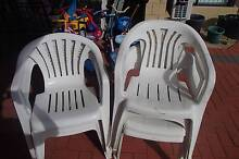 16 plastic outdoor chairs - all for $12 Riverton Canning Area Preview