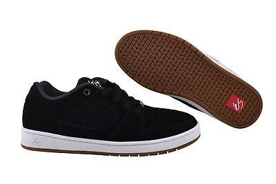 Es Skateboard-schuhe (eS Accel Slim black white Sneaker Schuhe schwarz)