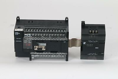 Omron Cp1h-x40dr-a Digital Programmable Logic Controller Io Relay Output - Used