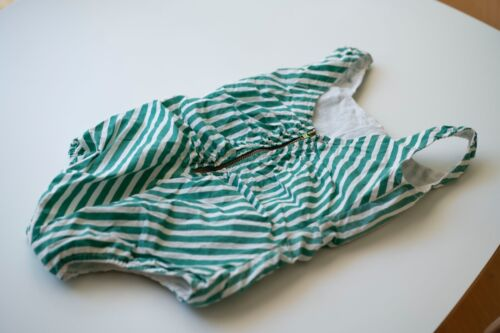 Wovenplay Lola Suit Green Stripes Size 6 Incredibly cute Luxury Designer