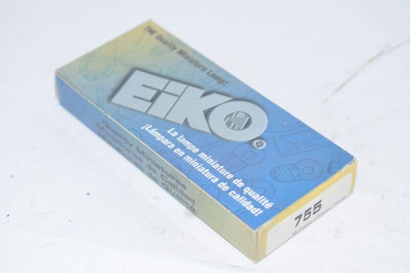 Pack of 10 NEW EIKO 755 miniature bulb