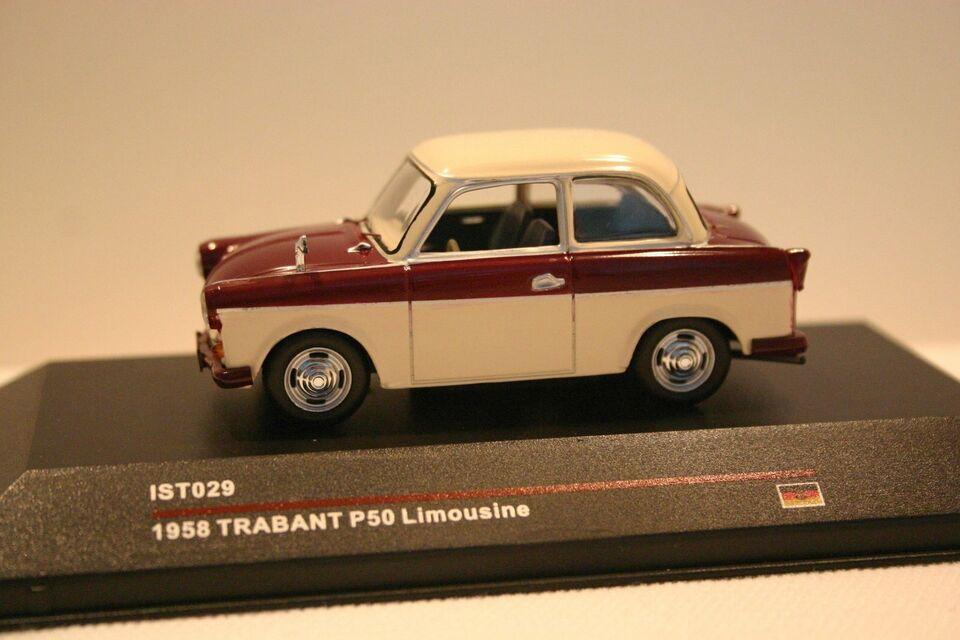 Trabant P 50 Limousine 1:43 IST- Models in Brandenburg - Ziesar