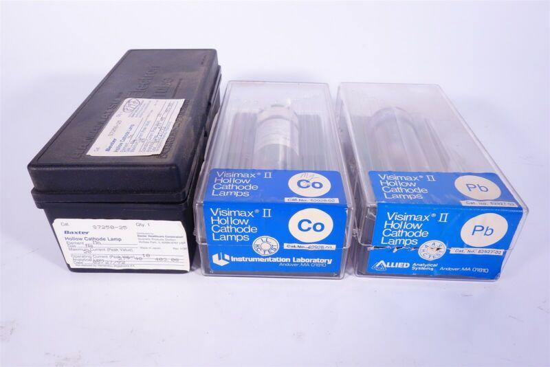 Instrumentation Laboratory & Baxtor Hollow Cathode Lamps