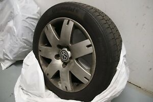 """Volkswagen 16"""" Rims, Factory Alloy Wheels (set of 4)with tires"""
