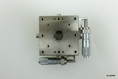 Sigma Koki Crom Plated Xy Positioner Used Tsdc-602sr 60x60x32 Sta-i-2145f31