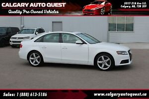 2011 Audi A4 2.0T AWD / LEATHER / SUNROOF / MUST SEE