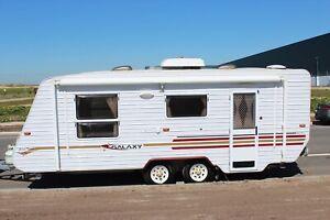 Galaxy Grand Tourer Caravan- Shower & Toilet