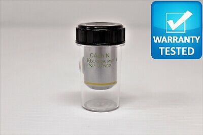 Olympus Cach N 10x0.25 Php Microscope Objective