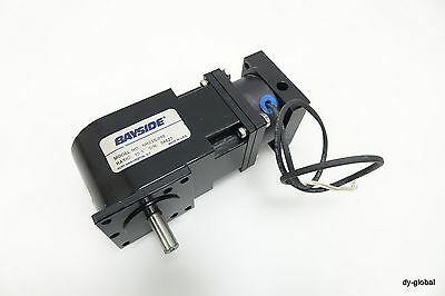 BAYSIDE NR23S-010 Used Stepping Motor Reducer + Brake 8923-2331 INERTIA DYNAMICS