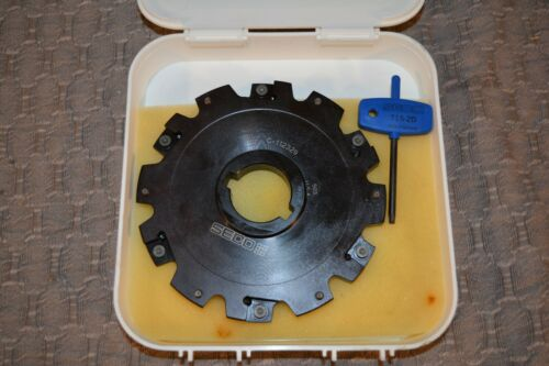 Seco Slot Milling Slot Cutter C-112329  503 USA New with T15-2D wrench