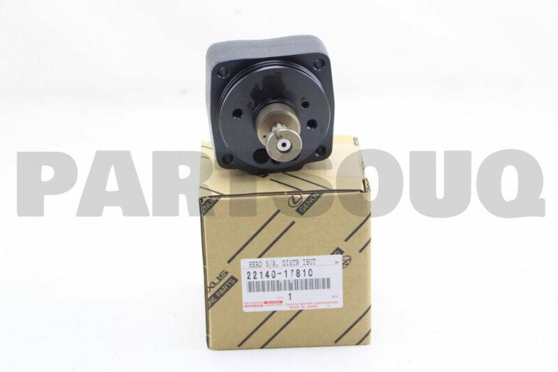 2214017810 Genuine Toyota Head Sub-assy, Distributive Pump 22140-17810