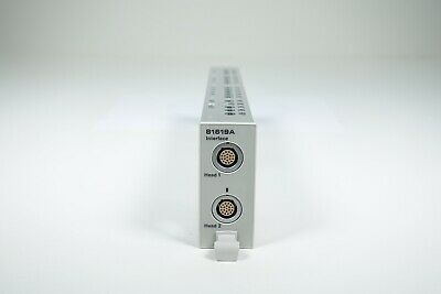 Keysight Used 81619a Dual Optical Head Interface Module