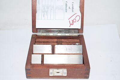 Vintage Hoke Weber Metric Precision Gage Blocks 25mm - 100mm