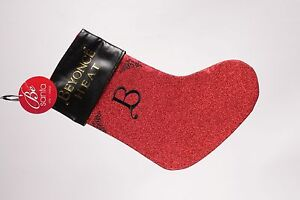 Beyonce-Heat-Be-Santa-Red-Black-Holiday-Christmas-Stocking
