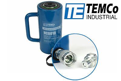 Temco Hc0010 - Hydraulic Cylinder Ram Single Acting 20 Ton 4 Inch Stroke