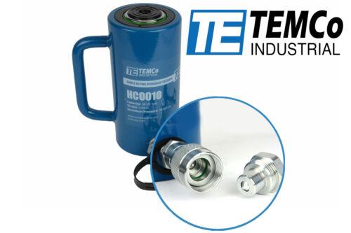 "TEMCo HC0010 - Hydraulic Cylinder Ram Single Acting 20 TON 4"" Inch Stroke"
