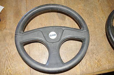 """Black 12-3/4"""" GIII Boat Steering Wheel 3/4"""" Bore 3 Spoke *FREE SHIPPING*"""