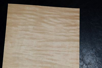 Curly Maple Raw Wood Veneer Sheets 6.5 X 25 Inches 142nd   8632-41