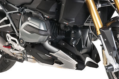 PUIG ENGINE SPOILER CARBON LOOK BELLY PAN COMPATIBLE FOR BMW R 1200 RS 2015 >