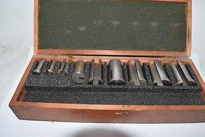 Dumont Greenfield Keyway Broach Set Of 9 Bushings 12 To 1-12 C