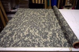 ACU UNIVERSAL CAMOUFLAGE 1.9 OZ  NYLON RIPSTOP FABRIC MILITARY CAMO  BTY