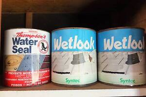 Wetlook + water seal paint remainders Muswellbrook Muswellbrook Area Preview