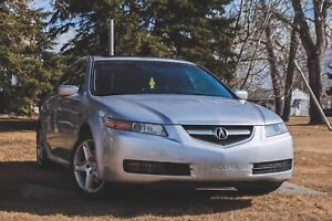 Acura TL 2004 Silver Navigation package