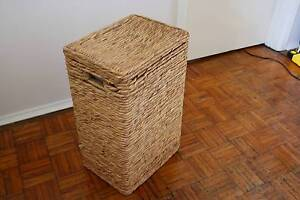 Clothes / Washing basket - cane West Footscray Maribyrnong Area Preview