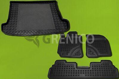 Gummi-Fußmatten+Kofferraumwanne TOYOTA VERSO S 2011-heute oberer Ladeboden