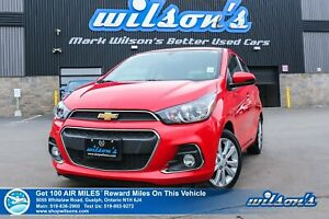 2018 Chevrolet Spark LT Hatchback - Rear Camera, Bluetooth, Andr