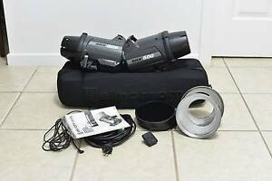 Elinchrom BRX 500 Twin Mono Flash head kit - EXCELLENT CONDITION Fawkner Moreland Area Preview